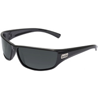 Bolle Bolt - Shiny Black Frame - HD Polarized TNS Lens - Large fit