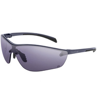 Bolle SILIUM Safety Glasses - Gray Frame - Smoke Lens