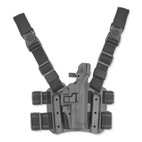Blackhawk Serpa Level 3 Tactical Holster - Black - Glock 17 - Right