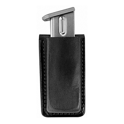 Bianchi Model 20A Open Magazine Pouch - Black - Browning BDA 9mm