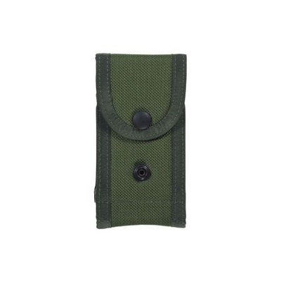 Bianchi Model M1025 Military Double Magazine Pouch - Glock 17 - OD Green