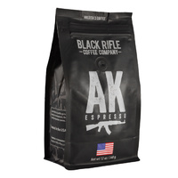 Black Rifle Coffee Company Coffee - AK-47 Espresso Blend - Ground - 12 oz bag