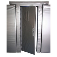 Blackwall Narrow Cell Door with Frame Reducers