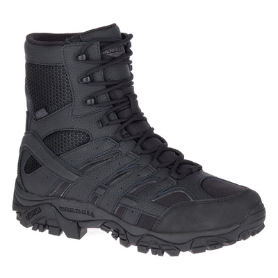 "Merrell Tactical Men's MOAB 2.8"" Tactical Waterproof Boots - Black - 12.0 US"