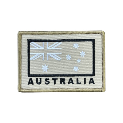 LEGEAR Australian Flag Patch - Tan