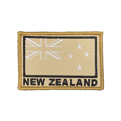 LEGEAR New Zealand Flag Patch - Tan