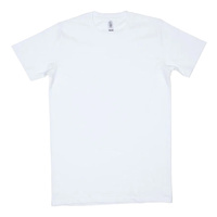 Men's 180gsm Classic Cut Short Sleeve T-Shirt (6 PACK) - White