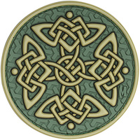 Maxpedition Celtic Cross Patch - Full Color