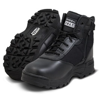 Original SWAT Classic 6 Inches Waterproof Side-Zip Safety Boot - Black