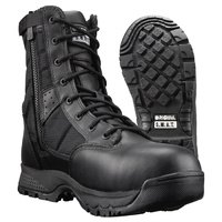 Original SWAT Metro 9 Inches Waterproof Side Zip Safety Boot - Black