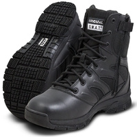 Original SWAT Force 8 Inches Side Zip Boot - Black