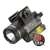 Streamlight A TLR-4 Weapons Mounted Light with Rail Locating Keys for a Variety of Weapons