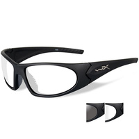 Wiley X Romer 3 - Grey/Clear Lens - Matte Black Frame