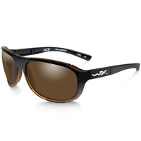 Wiley X Ace - Polarized Bronze Lens - Gloss Tortoise Fade Frame