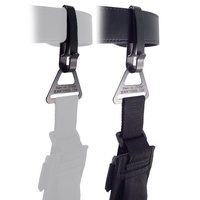 "Zak Tool Combo Pack Tactical Belt Clip System with Buckle - Key Ring Holder - 2.25"" Belt and 2"" 3/16 Leg Strap"