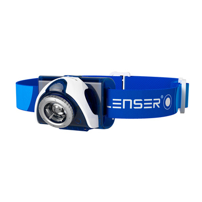 Ledlenser SEO 7R - Blue / Rechargeable / Clam Pack