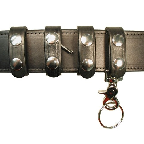 Boston Leather - BELT KEEPER COMBO PACK,DELUXE