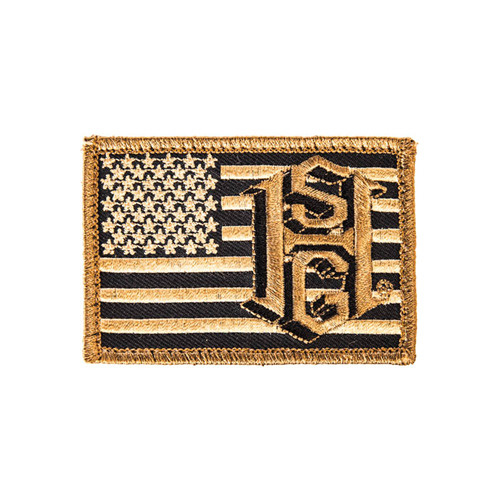 High Speed Gear US Flag Patch - Coyote Brown